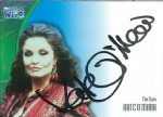 Doctor Who KATE O'MARA as The Rani AUTOGRAPH CARD AU15, Strictly Ink -  10650